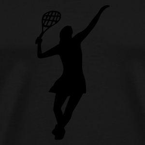 Female Tennis Player - Männer Premium T-Shirt