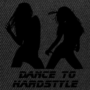 Black Dance to Hardstyle Men's Tees - Snapback Cap