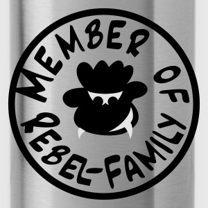 rebel schaf Tops - Trinkflasche