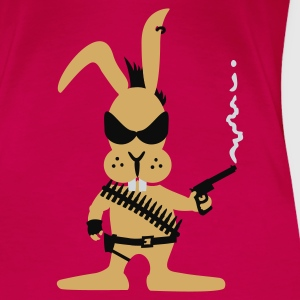Pink Killer bunny (3c) Tops - Women's Premium T-Shirt