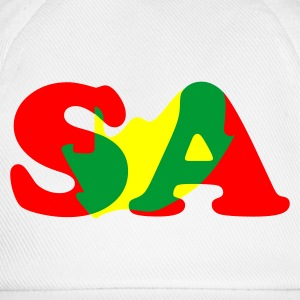 White South Africa With Map Tops - Baseball Cap
