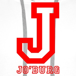 White Jo'burg, Johannesburg, South Africa Tops - Men's Premium Hoodie