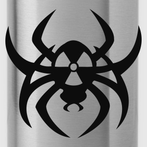 Aqua Radioactive spider Tops - Water Bottle