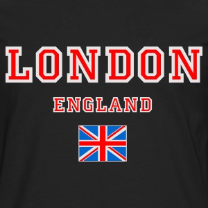 Black London, England Tops - Men's Premium Longsleeve Shirt