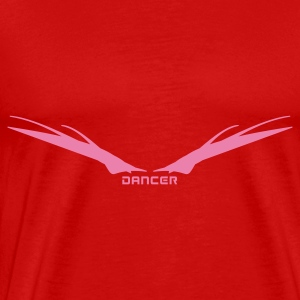 Red Dancer Wings Tops - Men's Premium T-Shirt