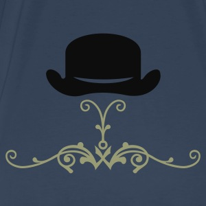Sky blue bowler hat (1c) Tops - Men's Premium T-Shirt
