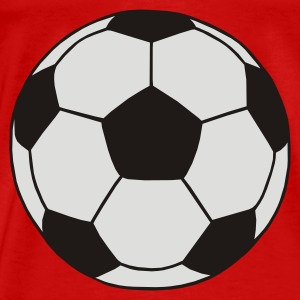 Red Football Tops - Men's Premium T-Shirt