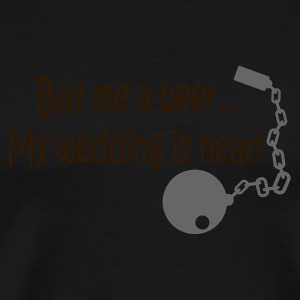 Olive Buy me a beer Men's Tees - Men's Premium T-Shirt