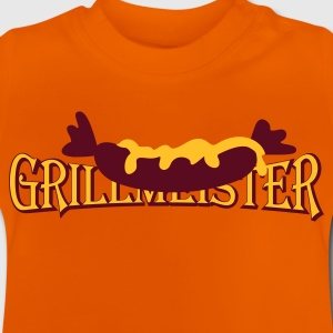 Orange Wurst mit Senf / sausage with mustard (2c) Kid's Shirts  - Baby T-Shirt