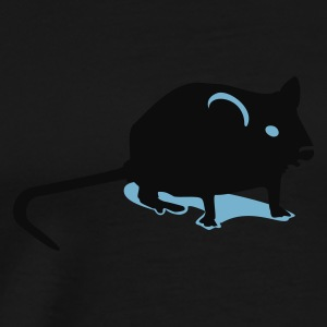 Oliven Mus / mouse (2c) T-shirts - Herre premium T-shirt