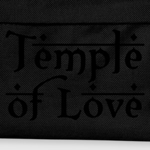 Schwarz TEMPLE OF LOVE Tops - Kinder Rucksack