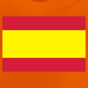 Orange Spanien Kinder T-Shirts - Baby T-Shirt