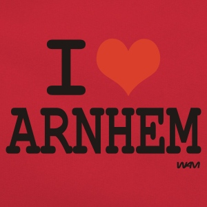 Oranje i love arnhem by wam T-shirts - Retro-tas