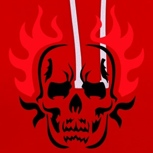 Burning HELLoween - EU - Contrast Colour Hoodie