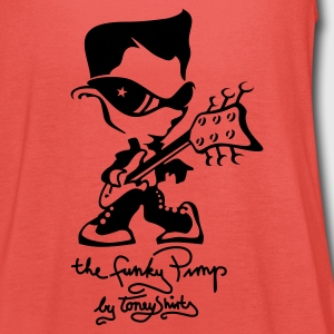 THE FUNKY PIMP Pt. 2 by toneyshirts (UK) - Women's Tank Top by Bella
