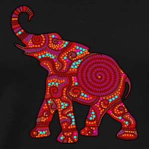 Elephant - RED - Männer Premium T-Shirt