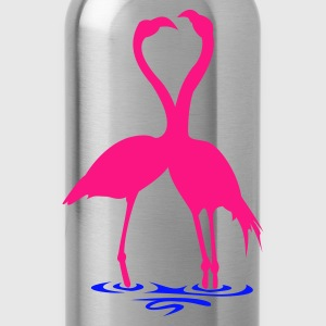 Silver Flamingo's - Drinkfles