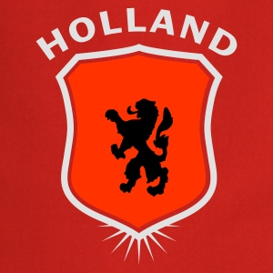 Orange Wappen Holland 1 T-Shirts - Kochschürze