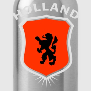 Orange Wappen Holland 1 T-Shirts - Trinkflasche