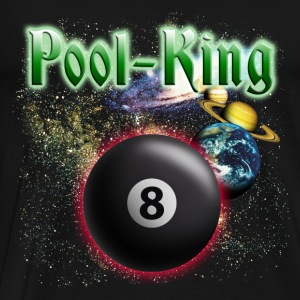 pool_king_space Toppe - Herre premium T-shirt