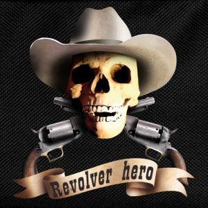cowboy_skull_a Topper - Ryggsekk for barn