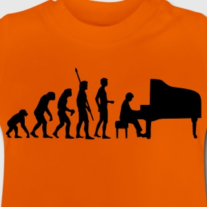 evolution_pianist Tee shirts - T-shirt Bébé
