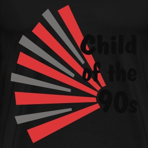 Black Child of the 90s Tops - Men's Premium T-Shirt