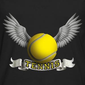 tennis_wings_a Tops - Men's Premium Longsleeve Shirt