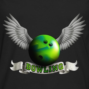 bowling_wings_a Tops - Men's Premium Longsleeve Shirt