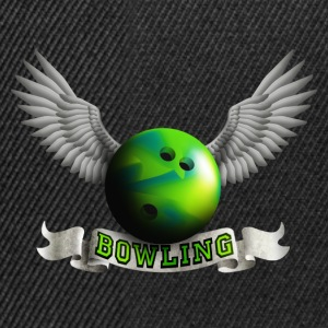 bowling_wings_a Tops - Gorra Snapback