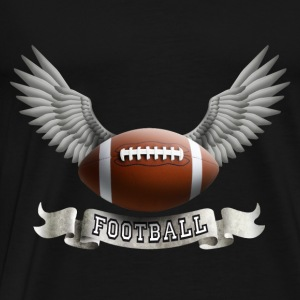 football_wings_a Toppe - Herre premium T-shirt