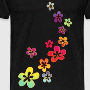 FLOWER POWER - Männer Premium T-Shirt