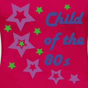 Pink Child of the 80s Toppe - Dame premium T-shirt