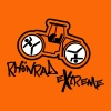Orange Rhönrad eXtreme - Extremsport - Walze T-Shirts - Frauen Premium T-Shirt