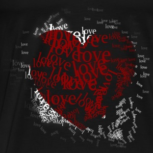 Black type of love Tops - Men's Premium T-Shirt