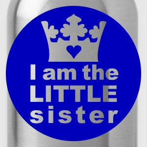 I am the Little Sister - Water Bottle