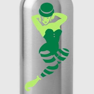Petrol st patrick pinup (2c) Tops - Water Bottle