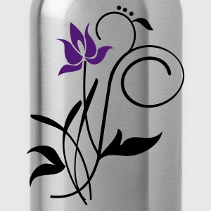 Rot Orchidee / orchid (2c) Tops - Trinkflasche