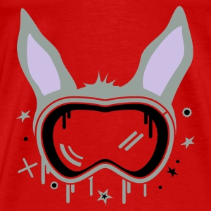 Red Ski Bunny Tops - Men's Premium T-Shirt