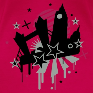 Pink london_ Tops - Frauen Premium T-Shirt