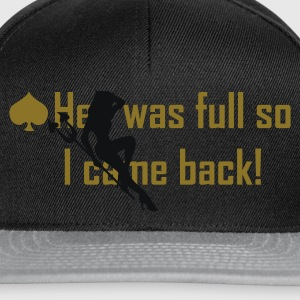 Black hell was full so I came back! Tops - Snapback Cap