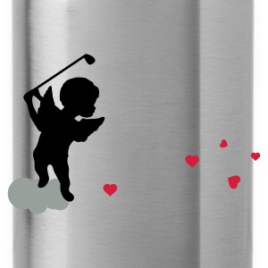 Aqua Amor with golf Club Tops - Water Bottle