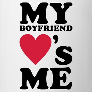 Wit My Boyfriend loves me Tops - Mok
