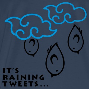 TWEETLERCOOLS - It's raining Tweets - Männer Premium T-Shirt