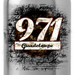 Rose 971 ! Guadeloupe Débardeurs - Gourde