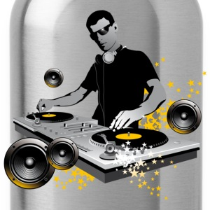 Goudoranje DJ Turntables T-shirts - Drinkfles