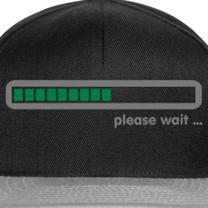Svart loading ... please wait (2c) Topper - Snapback-caps