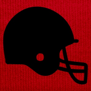 Red American Football Tops - Winter Hat
