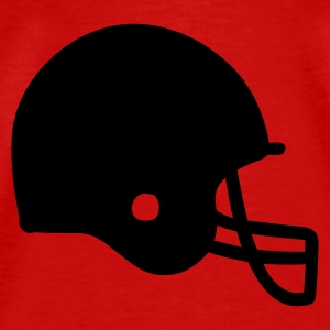Red American Football Tops - Men's Premium T-Shirt