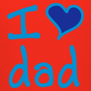 I love dad - Premium-Luvtröja barn